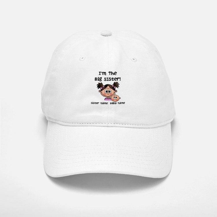 Big Sister 1 (brunette) - Customize! Baseball Cap