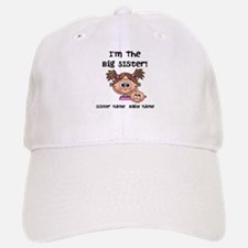 Big Sister 1 (brown) - Customize! Baseball Cap