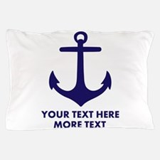 Nautical boat anchor Pillow Case