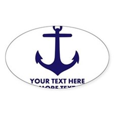 Nautical boat anchor Decal