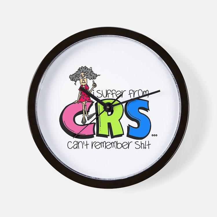Female CRS Wall Clock