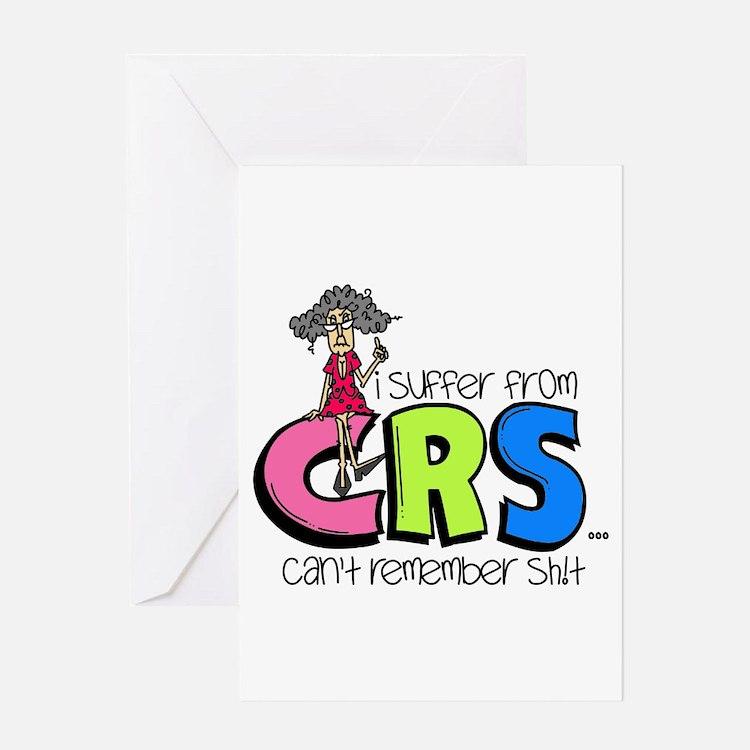 Female CRS Greeting Card