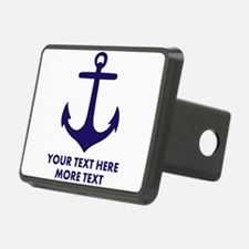 Nautical boat anchor Hitch Cover
