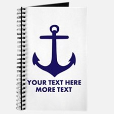Nautical boat anchor Journal