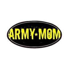 Army Mom: Black and Gold Patches