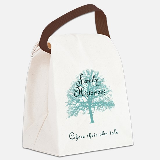 Family Historian Chase Tale Canvas Lunch Bag