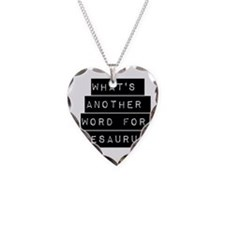 Whats Another Word For Thesaurus Necklace