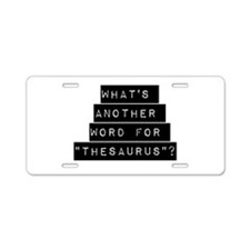 Whats Another Word For Thesaurus Aluminum License