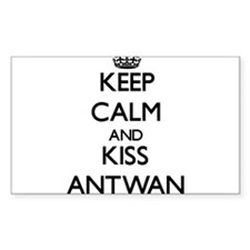 Keep Calm and Kiss Antwan Decal