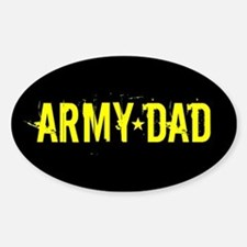 U.S. Army: Dad (Black & Gold) Decal