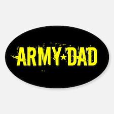 U.S. Army: Dad (Black & Gold) Decal