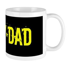 Army Dad: Black and Gold Mugs