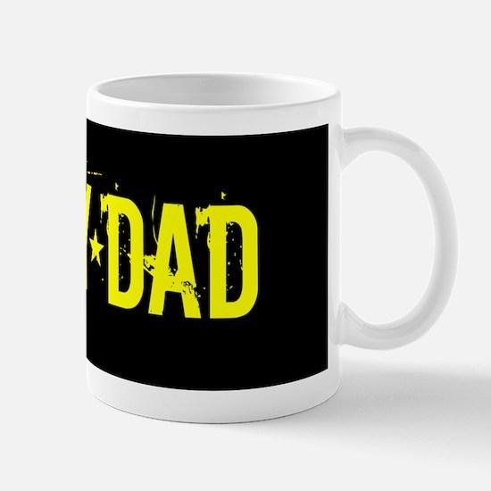 U.S. Army: Dad (Black & Gold) Mug