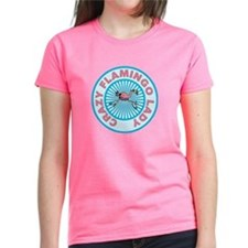 Crazy Flamingo Lady Tee