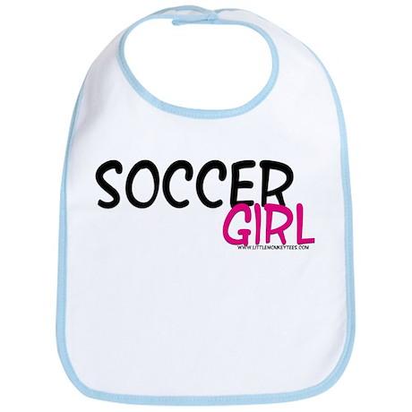 Soccer Girl Bib