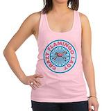 Flamingo lady Racerback
