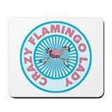 Flamingo Mouse Pads