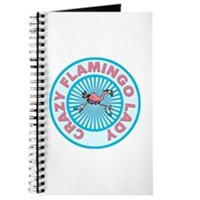 Crazy Flamingo Lady Journal