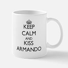 Keep Calm and Kiss Armando Mugs