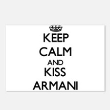 Keep Calm and Kiss Armani Postcards (Package of 8)