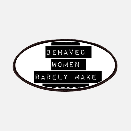 Well Behaved Women Patches