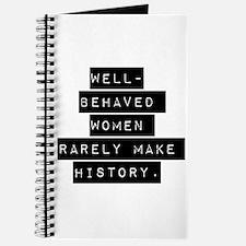 Well Behaved Women Journal
