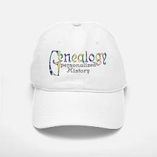 Genealogy Personalized White Center Baseball Baseball Cap