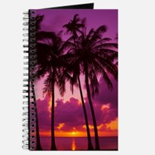 Purple Tropical Sunset 1 Journal