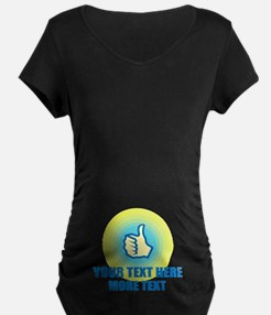 Thumbs Up | Personalized Maternity T-Shirt