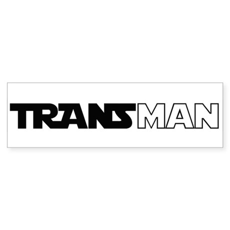 Transman Bumper Sticker