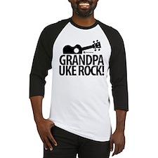 Grandpa Uke Rock! Baseball Jersey