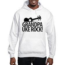 Grandpa Uke Rock! Hoodie