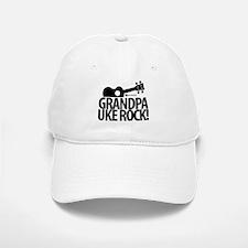 Grandpa Uke Rock! Baseball Baseball Baseball Cap