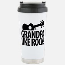 Grandpa Uke Rock! Travel Mug