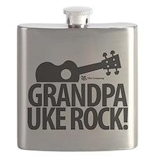 Grandpa Uke Rock! Flask