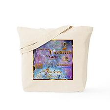 Zodiac Cosmos Tote Bag
