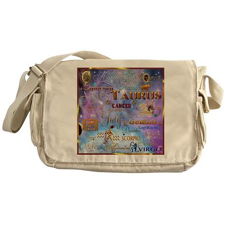 Zodiac Cosmos Messenger Bag