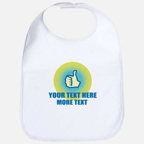 Thumbs Up | Personalized Bib