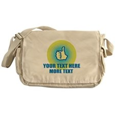 Thumbs Up | Personalized Messenger Bag