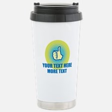Thumbs Up | Personalized Travel Mug