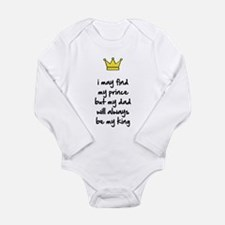 My dad will always be my king Body Suit