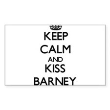 Keep Calm and Kiss Barney Decal