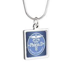 Caduceus Pharm.D Necklaces