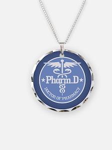 Caduceus Pharm.D Necklace