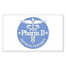 Caduceus Pharm.D Stickers