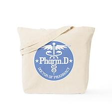 Caduceus Pharm.D Tote Bag