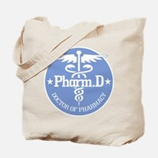 Caduceus Pharm.D Tote Bag