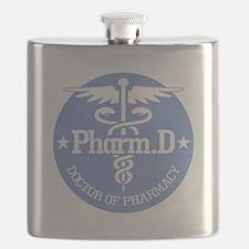 Caduceus Pharm.D Flask
