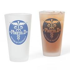 Caduceus Pharm.D Drinking Glass