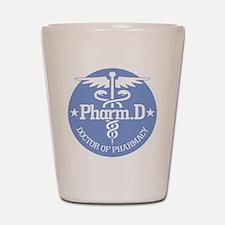 Caduceus Pharm.D Shot Glass